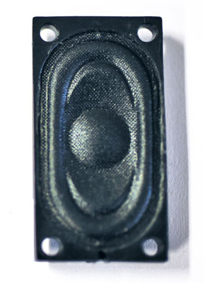 soundtraxx 810115 speaker, oval, 35x20mm 8ohm
