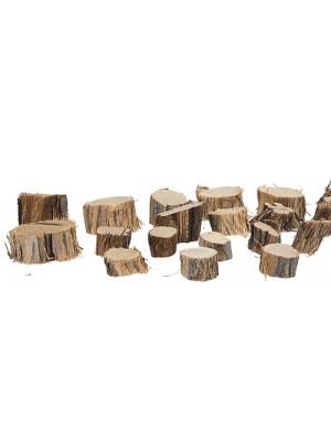 "timberline 20ts wood tree stumps 3/4x1-1/4"""