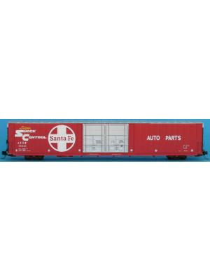 """trainworx 2925 santa fe 86'6"""" auto boxcar"""