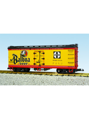 usa trains 16428 balboa beer reefer