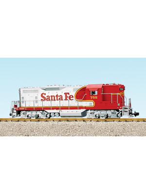 usa trains 22107 santa fe gp9 red/slvr