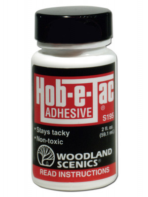 woodland scenics s195 hob e tac adhesive
