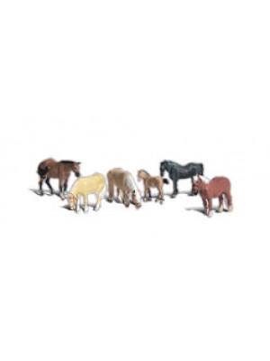 woodland scenics 2141 farm horses