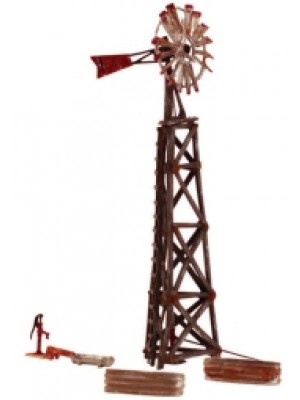 woodland scenics 4936 n scale old windmill