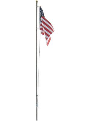woodland scenics 5951 flagpole medium w/spotlight