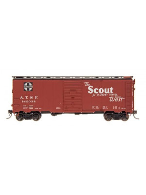 intermountain 45831 santa fe boxcar-the scout