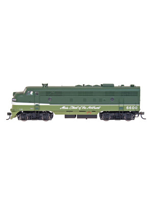intermountain 49933s np fp7a w/dcc & sound