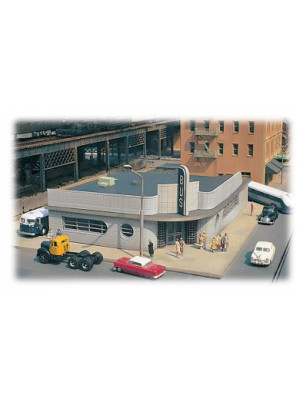 bachmann 88005 bus station