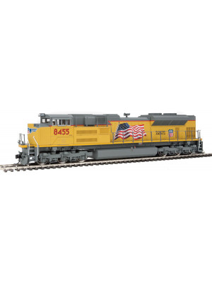 walthers 19853 up sd70ace dcc/snd #8455