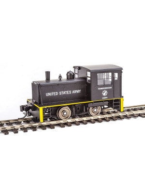 walthers 910-20006 us army plymouth switcher w/dcc