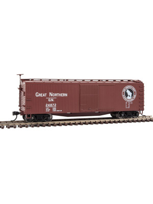 walthers mainline 40159 gn 40' wood boxcar