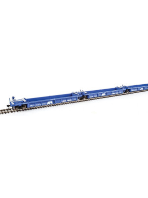walthers mainline 55600 apl 5 unit well car set