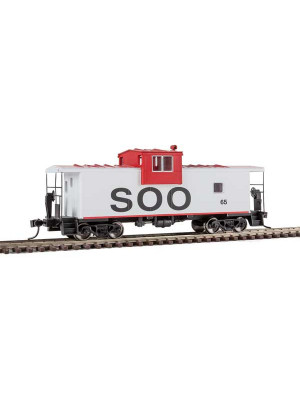 walthers 8707 soo line wide vision caboose