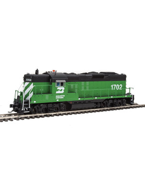 walthers 40875 bn gp9 dcc/snd #1702