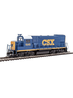 walthers trainline 2503 csx gp15 dc version