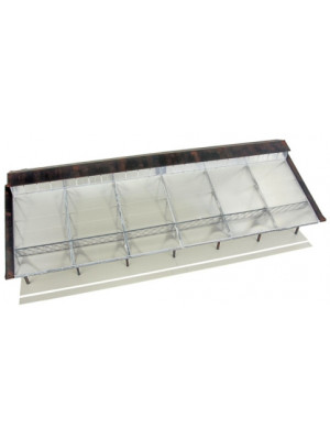walthers 2984 train shed w/clear roof