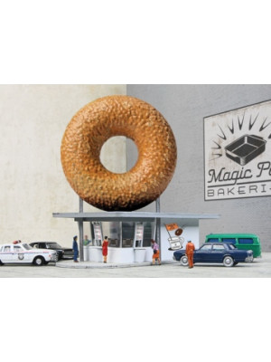 walthers 3835 hole-in-one donut shop