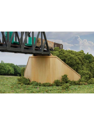 walthers 3881 bridge abutment 2pk