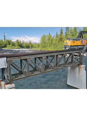 "walthers 933-4520 109"" sngl track truss bridge"