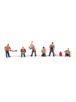 walthers 6066 rr track workers set 1