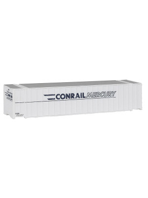 walthers 9498843 conrail/mercury 48' container