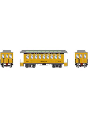 athearn 11010 d&rgw 34' ot coach