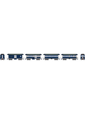 athearn 11028 b&o 34' ot pass set 4pk
