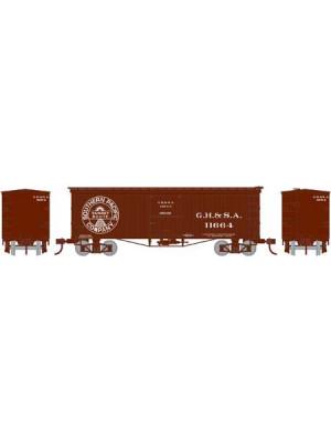 athearn 15115 gh & sa 36' wood boxcar