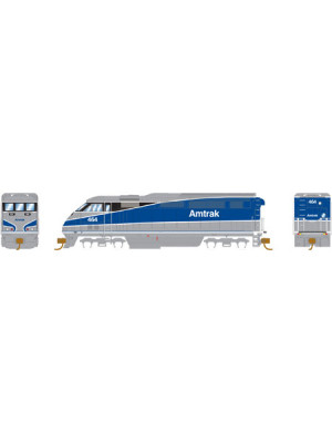 athearn 6781 amtrak/srfliner dcc/snd #464