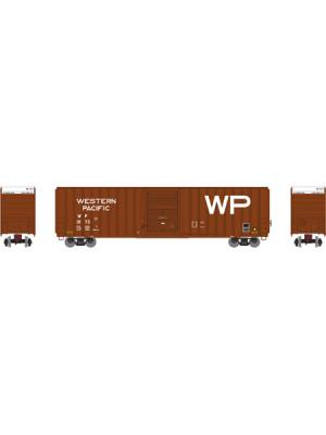 athearn 72649 wp/brn 60' hc ep boxcar