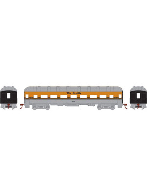 athearn 86617 d&rgw arch roof coach