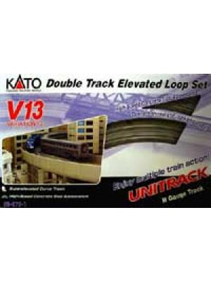 kato 20-872-1 v13 double track elevated set