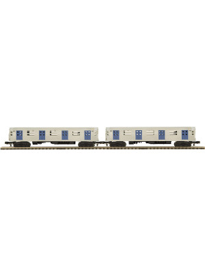 mth 20-2934-3 r-34 subway 2 car set