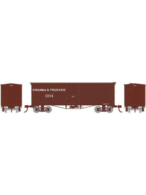 roundhouse 15640 v&t 36' wood boxcar
