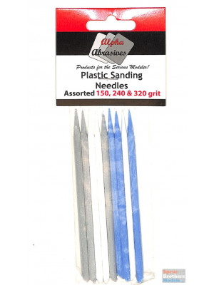 alpha abrasives 404 prof. sanding needles 9pk