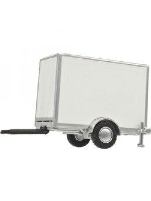 atlas 60000101 std box trailer white single-axle