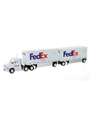 b2b tonkin 95181 fed ex truck w/trailers