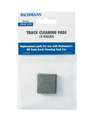 bachmann 16949 track cleaning pads 2pk