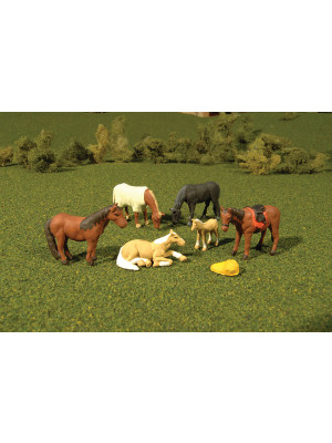 bachmann 33169 horses 6pk