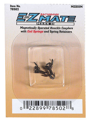 bachmann 78502 e-z mate couplers medium 1 pair