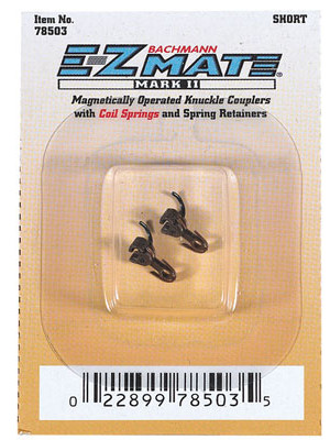 bachmann 78503 e-z mate coupler short 1 pair