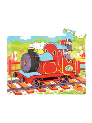 bigjigs bj723 train tray puzzle