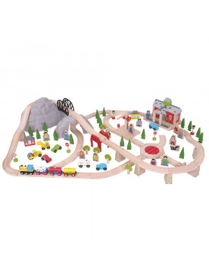 bigjigs bjt16 mountain railway set