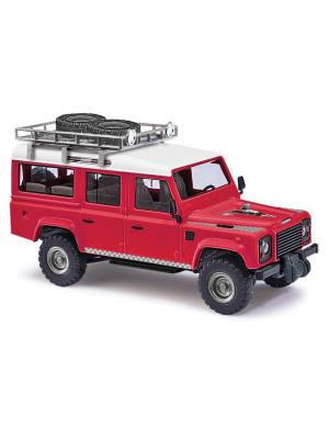 busch 50360 land rover defender red