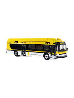 iconic replicas 0139 hertz transit bus