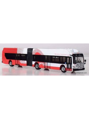 iconic replica 870158 san diego articulated bus