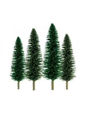 """jtt 92031 cedar trees 4-6"""" 24pk"""