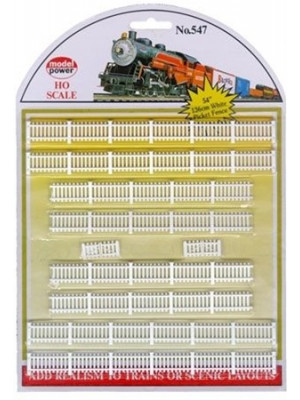 model power 547 white picket fence 54""