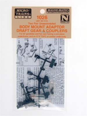 micro trains 1026 couplers w/draft gear