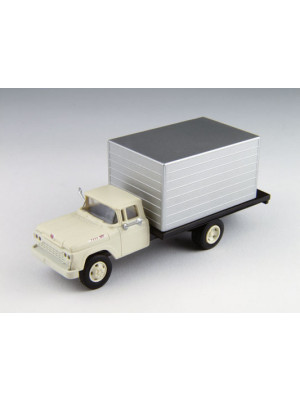 classic metal works 30477 silver cab box truck